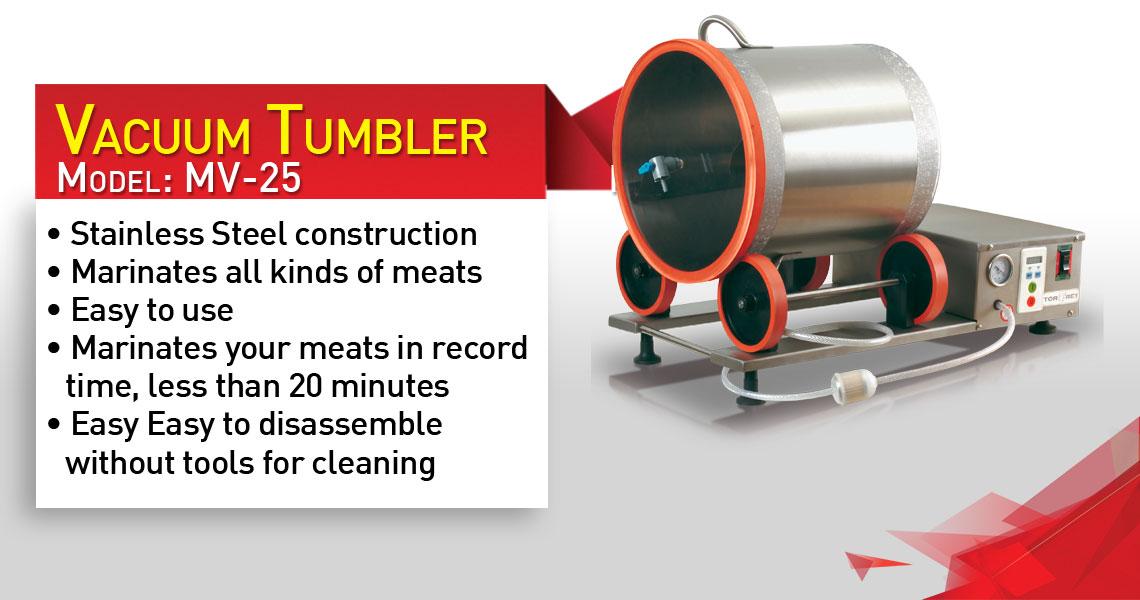 Torrey Vacuum Tumbler Mv25