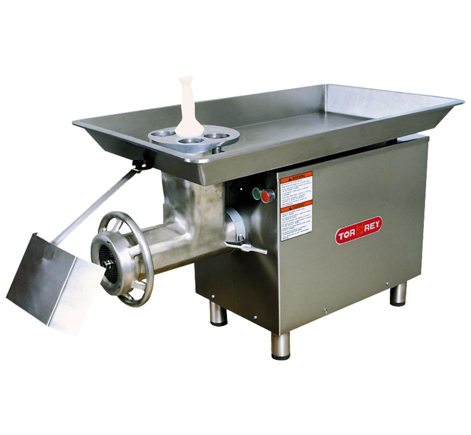 Grinding Parts Area : Torrey high volume meat grinder m
