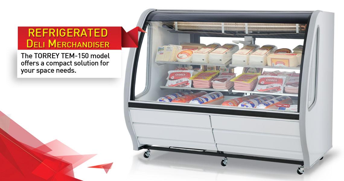 Torrey Refrigerated Deli Merchandiser Tem200